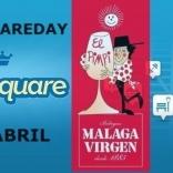 #4squareDay 2014 Málaga