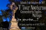 V Tour Noctuno del Cementerio Ingl�s de M�laga