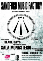 concierto-sandford-music-factory--black-days