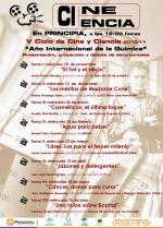 V Ciclo Cine-Ciencia (Cosméticos, el último toque)